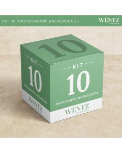 Package with 10 Backgrounds Wentz | KIT-10